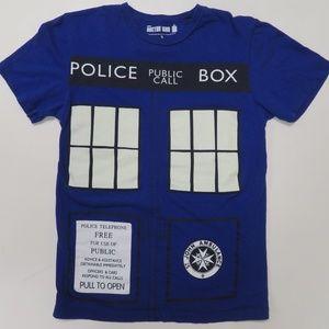 Doctor Who TV Series Police Call Box T-Shirt